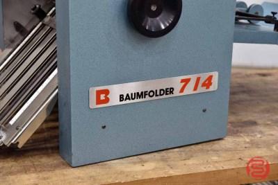 Baum 714 Friction Feed Paper Folder - 072921013120