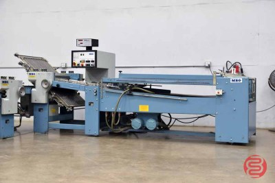 MBO B20 Continuous Feed Paper Folder w/ 8 Page Unit and Mobile Delivery - 070821075502