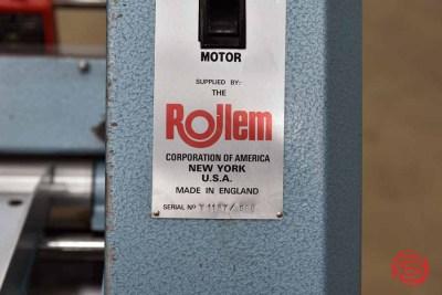 Rollem Auto 4 Perf Slit Score Numbering Machine - 070921083610