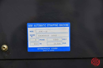 StraPack JK-2 Automatic Strapping Machine - 072921011030