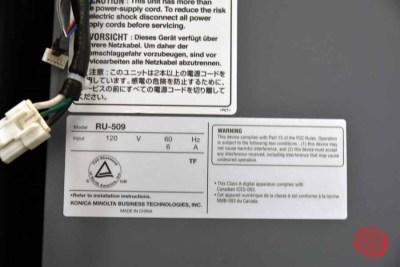 2012 Konica Minolta bizhub Press 1250p Digital Print Station - 081221010920