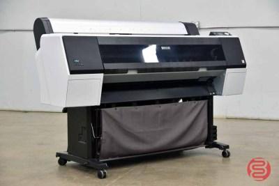 2014 Epson Stylus Pro 9900 44in Wide Format Printer - 082321084710