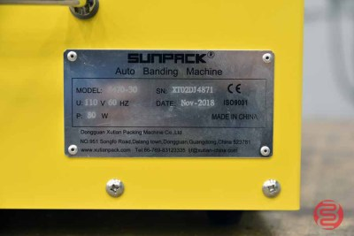 2018 SunPack / B-Way Equipment S470-30 Paper & Film Banding Machine - 083021125222