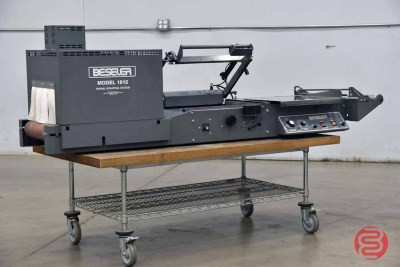 Beseler 1812 Semi-Automatic Shrink Wrap System w/ Magnetic Hold Down - 082321075612