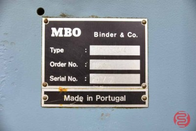 MBO B20 Pile Feed Paper Folder - 081021104610