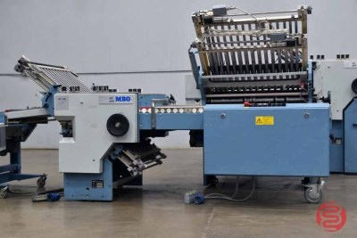 MBO Perfection Navigator B26 Continuous Feed Paper Folder w/ 8 Page Unit, 16 Page Unit and Mobile Delivery - 082621101112