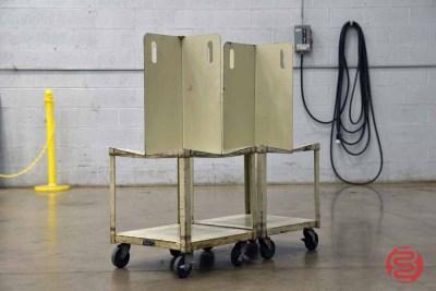 Quadracart Paper Bindery Cart (Qty. 2) - 081021074814