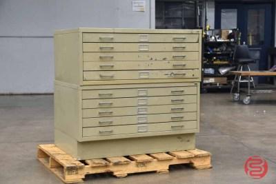 SAFCO Flat Filing Cabinet - 081121085350