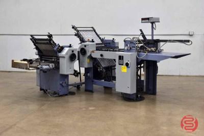 Stahl F50 Pile Feed Paper Folder w/ 8-Fold Unit - 081621015710