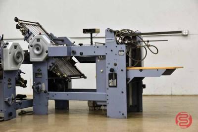 Stahl Pile Feed Paper Folder w/ 8-Fold Unit - 081821102346