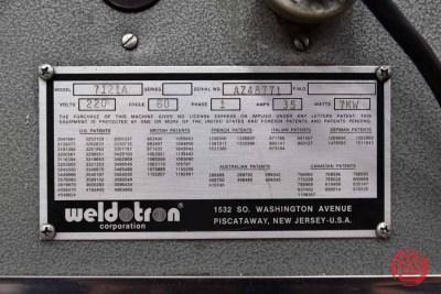 Weldotron 7121A Heat Tunnel - 082721093145