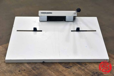 1996 Heidelberg AS-Stanze Punch - 090221024714