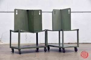 Martin Yale Quadracart Paper Bindery Cart - (Qty 2) - 092421074250