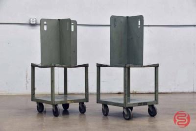 Martin Yale Quadracart Paper Bindery Cart - (Qty 2) - 092421083820