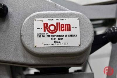 Rollem Champion 990 Perf Slit Score Machine - 091321101920