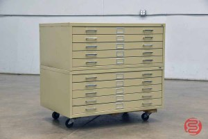 SAFCO Flat Filing Cabinet - 083121025422
