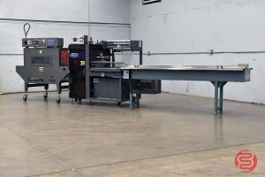 2006 Arpac Hanagata Model HP-10Z Automatic L-Bar Sealer w/ Electric Conveyor and VT122248 Vision Series Shrink Tunnel - 101521122756