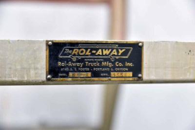 Rol-Away S-4-1 Aluminum Ladder Cart - 100621112355