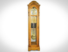 Howard Miller 611-072 Traditional Parsons Golden Oak Grandfather Clock. $1,477 on Sale