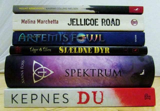 Dewey's Read-a-Thon #1 - De udvalgte bøger