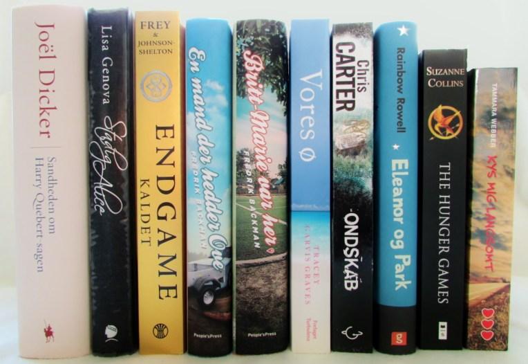 Top 14 læste bøger i 2014