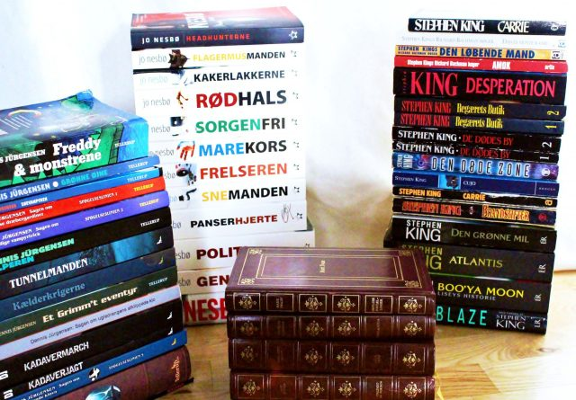 I'm obsessed with books. I'm a book collector