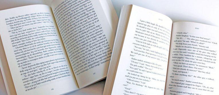 Bøgers opsætning