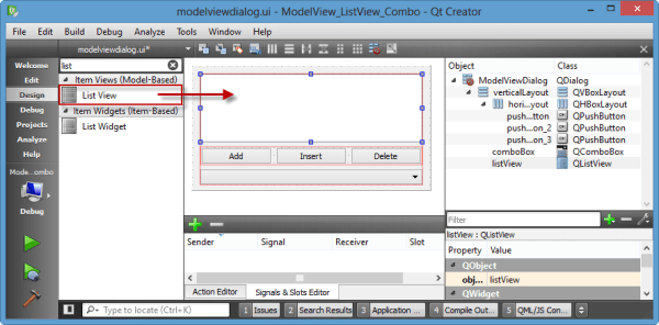 Qt5 Tutorial ModelView with QListView and QStringListModel ...