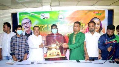 Photo of বগুড়ায় জেলা স্বেচ্ছাসেবক লীগের বিশেষ কর্মী সভা