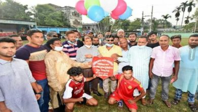 Photo of বগুড়ায় রাইজিং ক্লাবের আয়োজনে কাউন্সিলর কাপ ফুটবল টুর্ণামেন্ট
