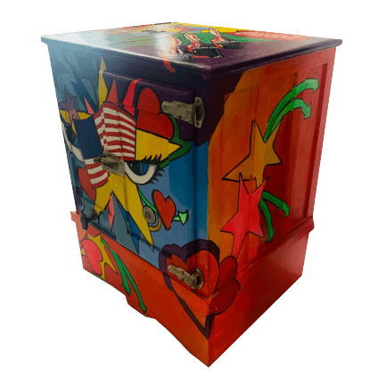 Ghiacciaia Pop Art vintage