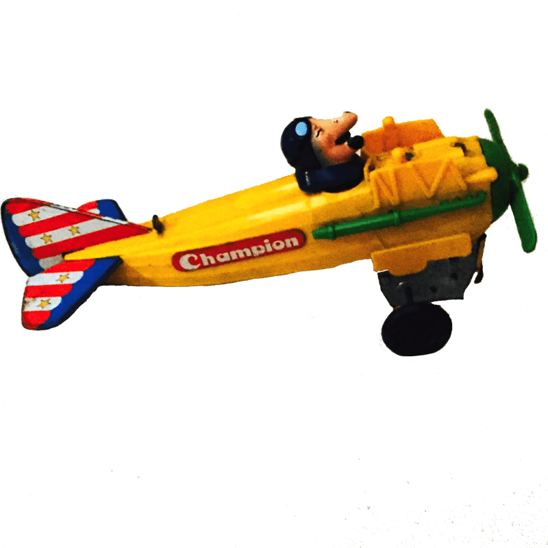 Aeroplanino Champion in bachelite