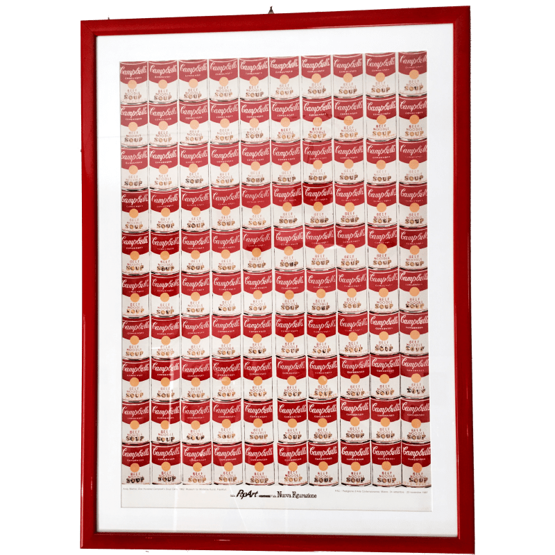 Andy Warhol One Hundred Campbell's Soup Cans