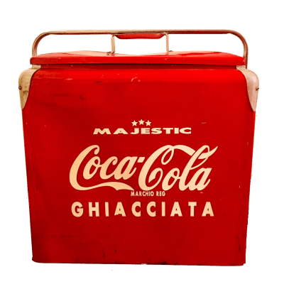 Frigo coca-cola ice chest majestic