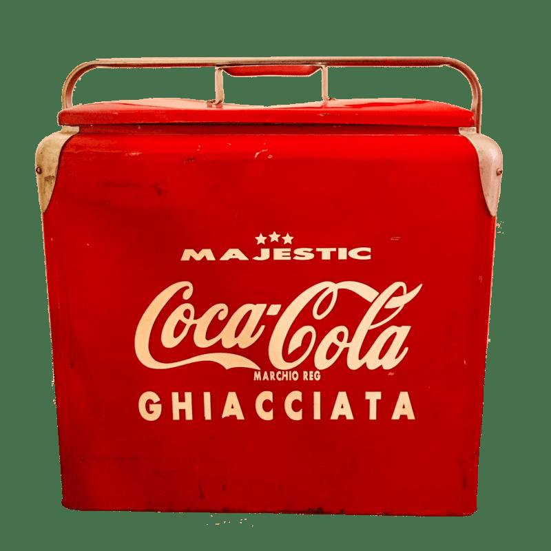 Frigo coca-cola ice chest majestic