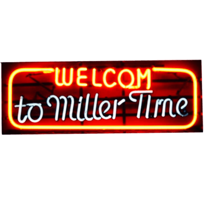 Insegna Birra Miller
