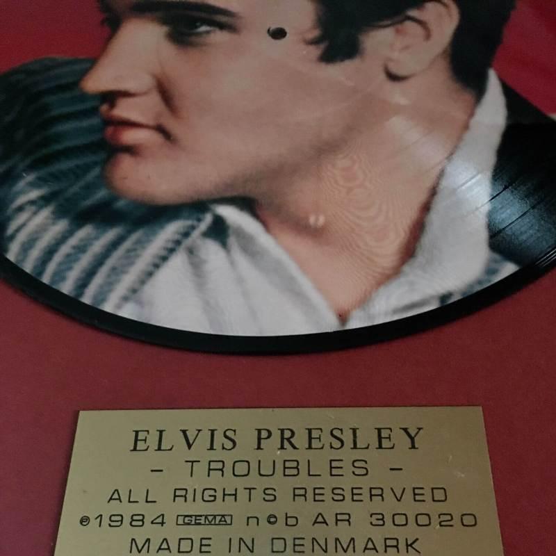 Quadro Elvis dettaglio