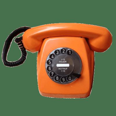 Telefono da tavolo a disco