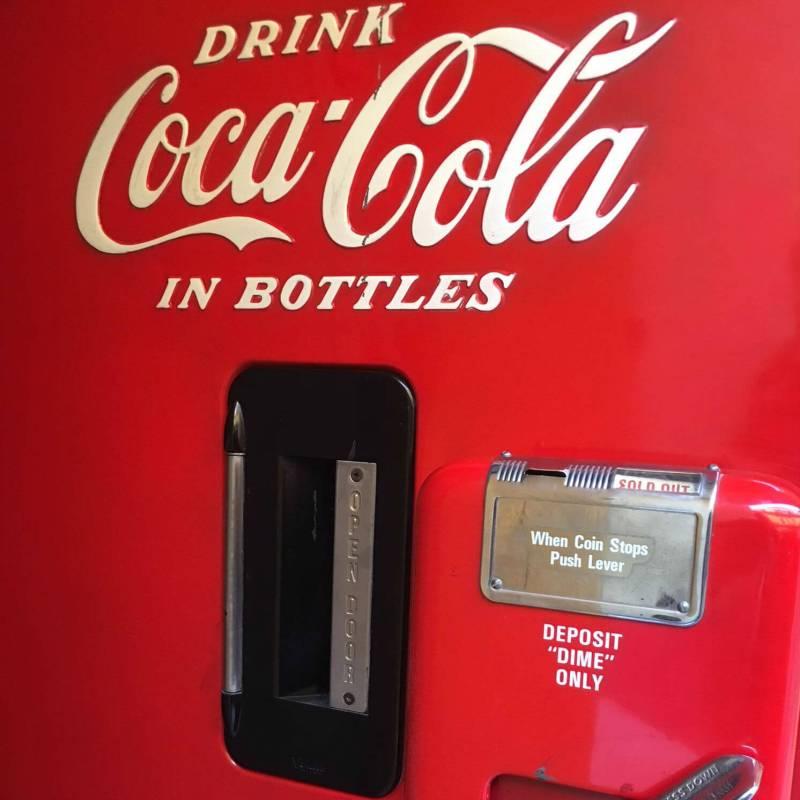 CocaCola Vendo V-39 particolare