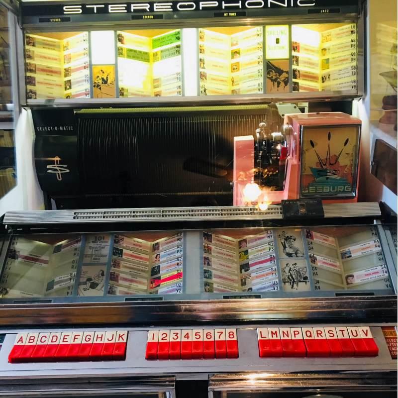 Jukebox Seeburg 220 Stereo dettaglio