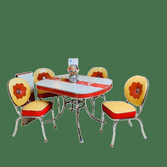 set-sedie-americane