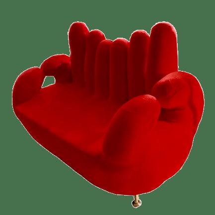 Divano Mano Tomasucci rosso