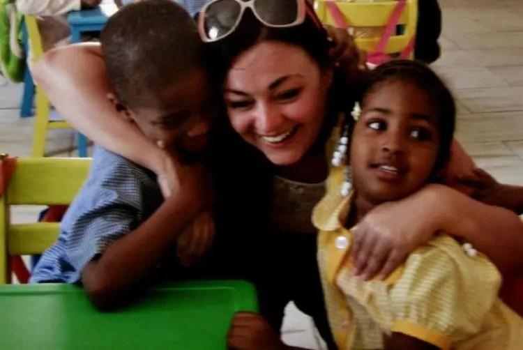 School bezoek op Sal in Kaapverdië