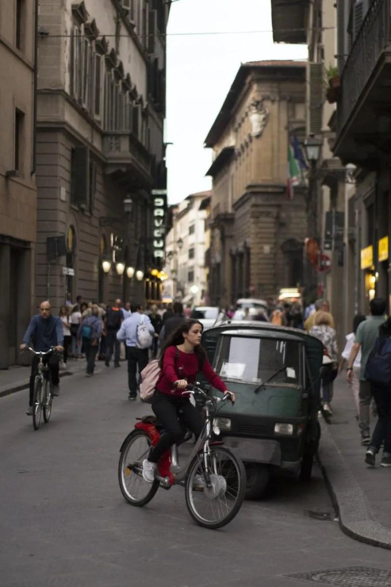 Fietsen in Florence