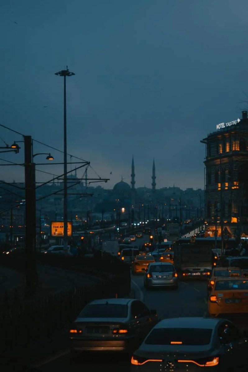 Reizen met het openbaar vervoer in Istanbul