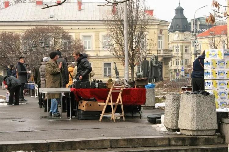 Antiekmarkt in Sofia