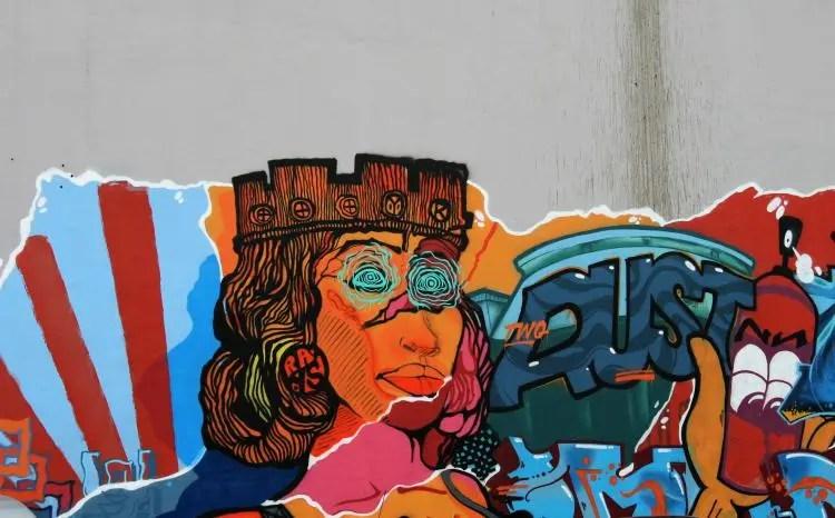 Kunst op straat in Sofia