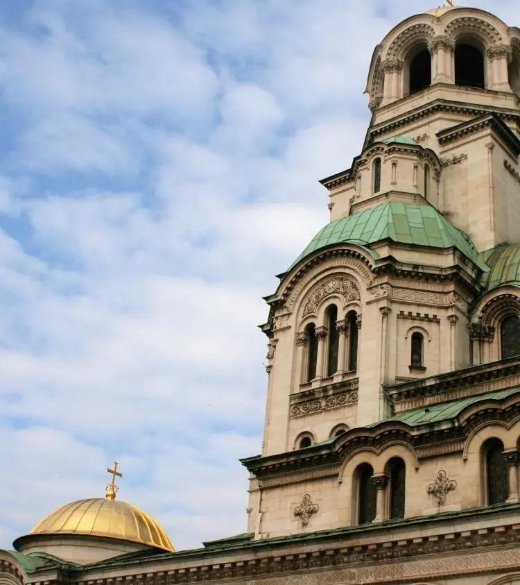 Sofia The Alexander Nevsky cathedral