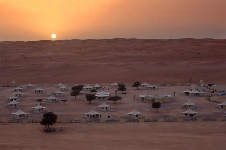 Desert Nigts Camp in Oman