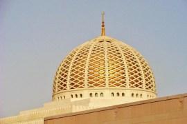 Een cadeau voor Oman de prachtige Sultan Qaboos moskee